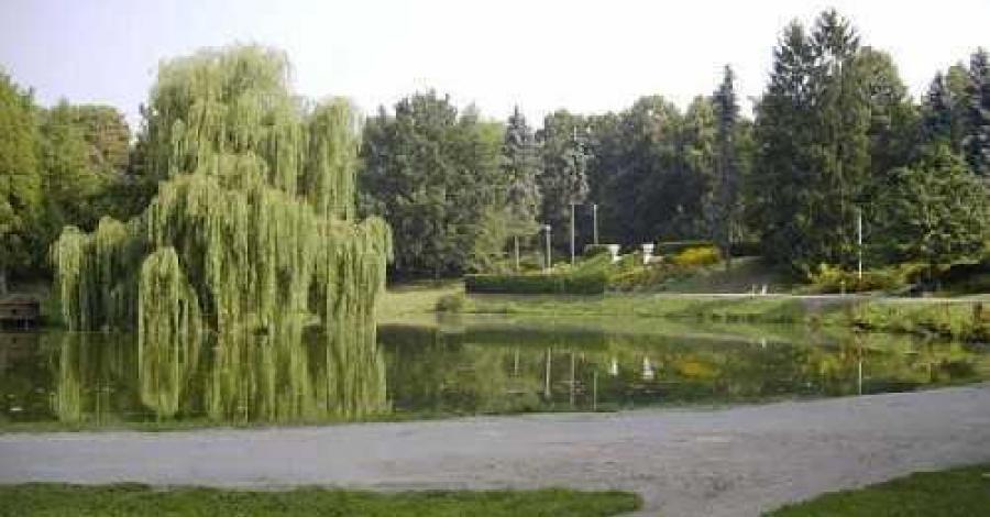 Park miejski w Zamościu - zdjęcie