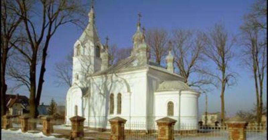 Cerkiew w Fastach - zdjęcie