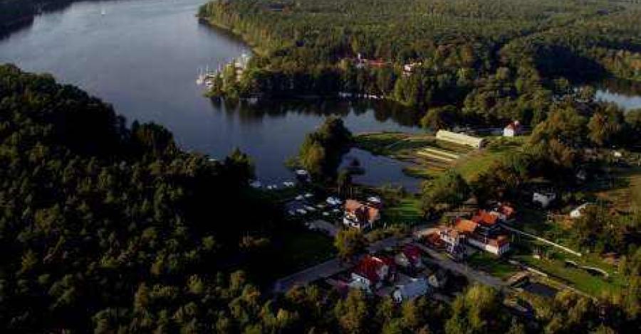 Jezioro Bełdany na Mazurach - zdjęcie