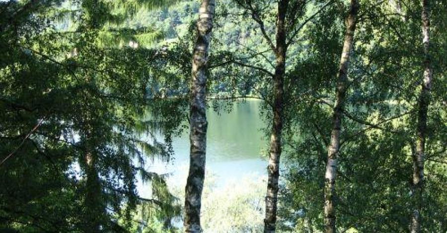 Jeziorko Szmaragdowe w Bieszczadach - zdjęcie