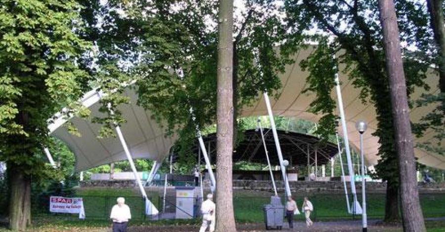 Amfiteatr w Ustroniu - zdjęcie