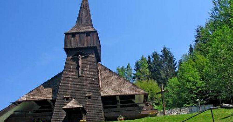 Drewniany kościół w Wiśle-Łabajowie, Anna Piernikarczyk