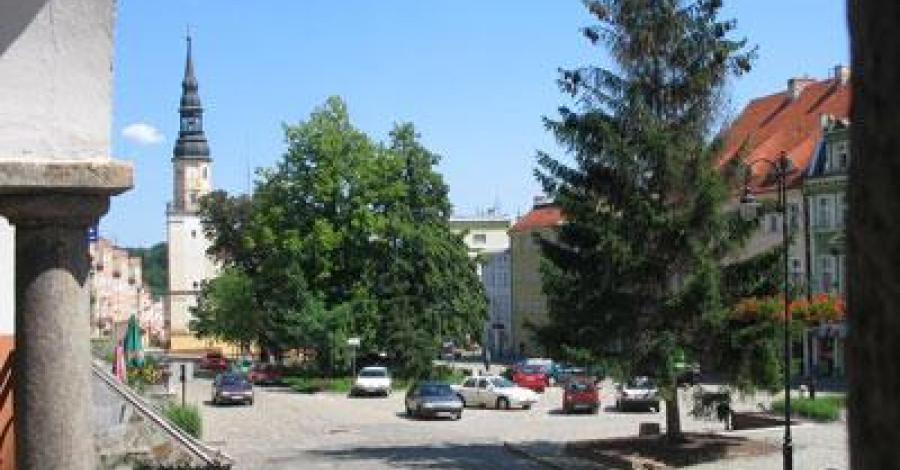 Rynek w Bolkowie - zdjęcie
