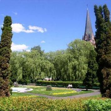 Park miejski w Szczecinku