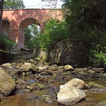 Most gotycki w Reszlu