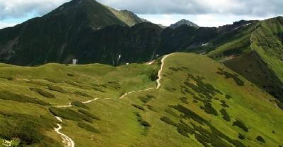 Atak na Bystrą w Tatrach - zdjęcie