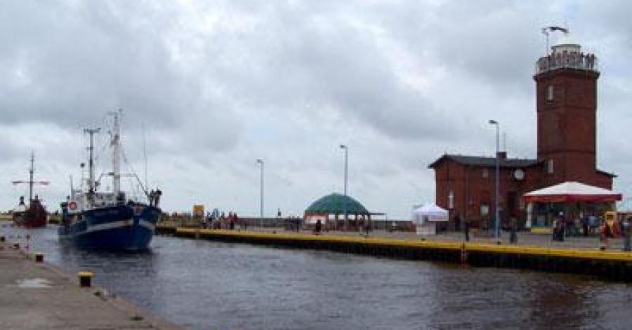Port w Darłówku - zdjęcie