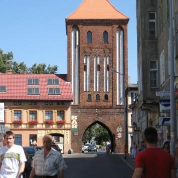 Brama Wysoka w Darłowie - zdjęcie
