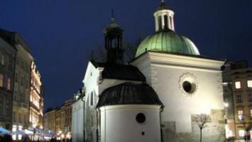 Kraków wieczorną porą - zdjęcie