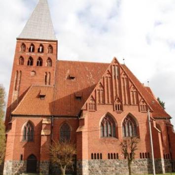 Kościół Ewangelicki i Wieża w Ostródzie