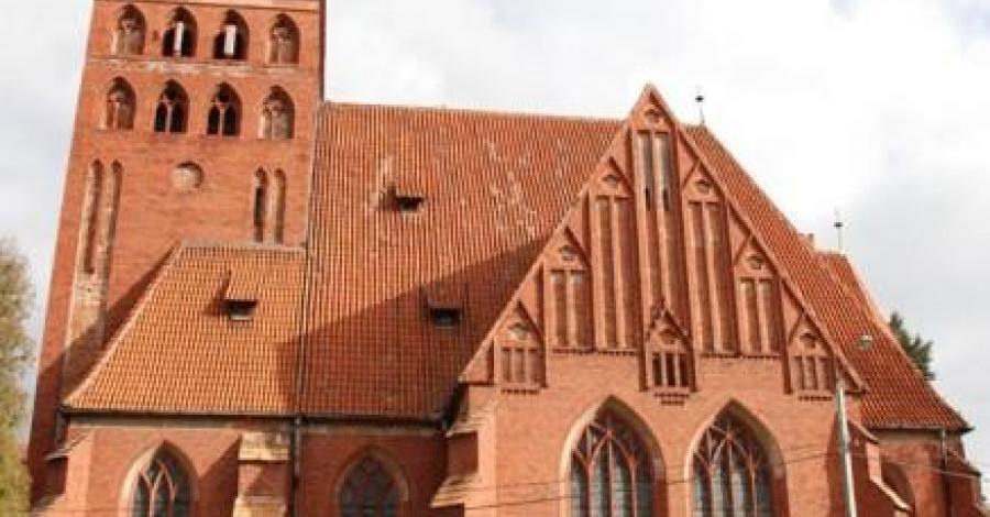 Kościół Ewangelicki i Wieża w Ostródzie - zdjęcie