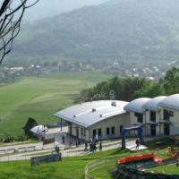 Góra Żar, dolna stacja kolei
