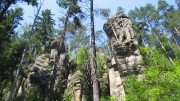 Skalne Miasto w Czechach - zdjęcie