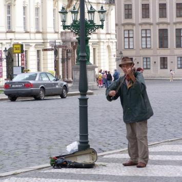 Moje spotkanie z Pragą