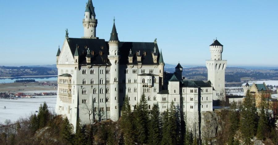 """Zamki """" bajkowego króla """" - Ludwika II Bawarskiego - zdjęcie"""