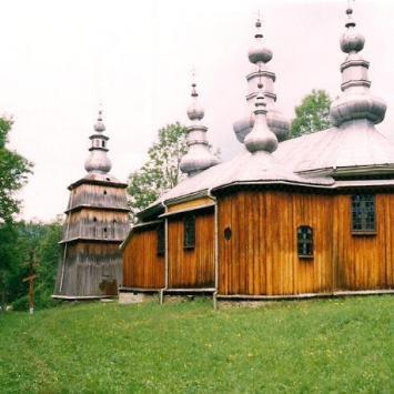 Cerkiew śwMichała Archanioła z 1803r w Turzańsku