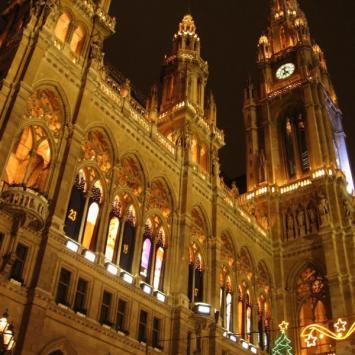 Bratysława i Wiedeń przedświąteczną porą