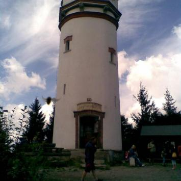 Wieża widokowa na Biskupiej Kopie