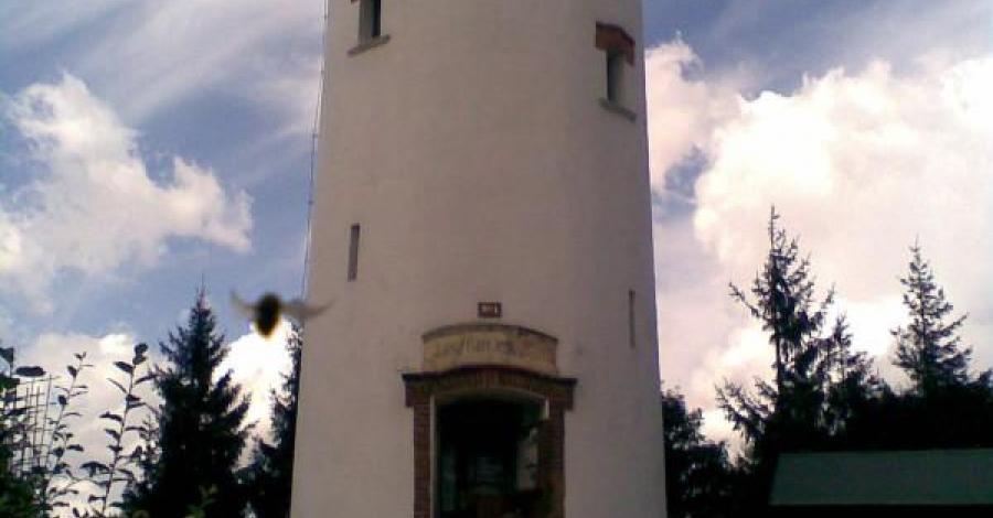 Wieża widokowa na Biskupiej Kopie - zdjęcie