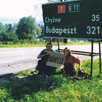 1999 Stopem do Budapesztu i Pragi