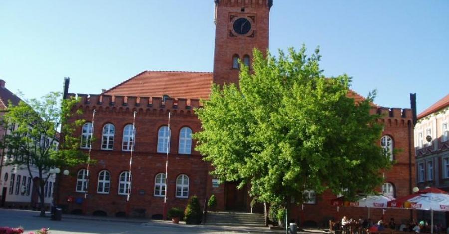 Ratusz w Szczecinku - zdjęcie