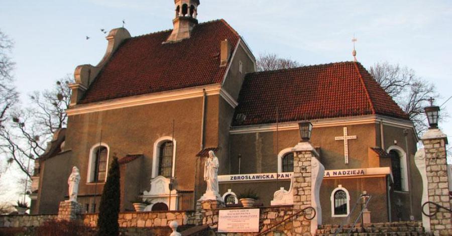 Kościół w Zbrosławicach - zdjęcie