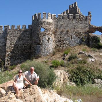 Anamur i Anamurium w Turcji