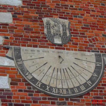 Sandomierz - zegar na ratuszu, Piotrek G.