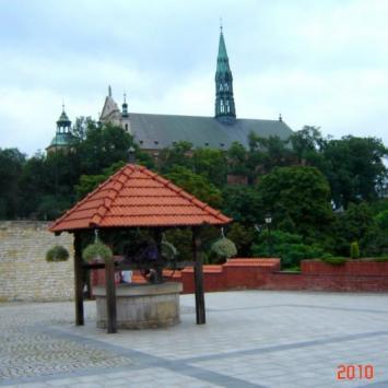 Sandomierz - dziedziniec zamku, Piotrek G.
