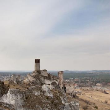 Zamek w Olsztynie k. Częstochowy - zdjęcie