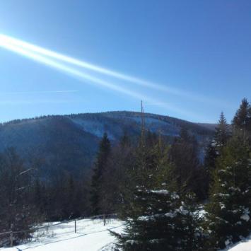 Wyjście w góry w styczniu