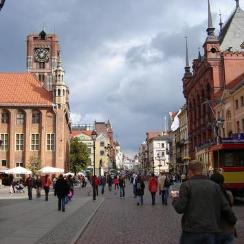 Toruń, kasia