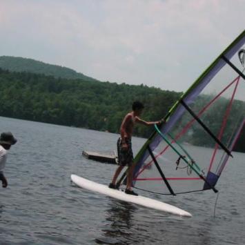 Hel - kurs windsurfingu, Natalia