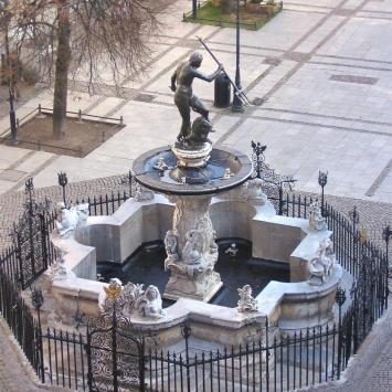 Gdańsk- fontanna Neptuna