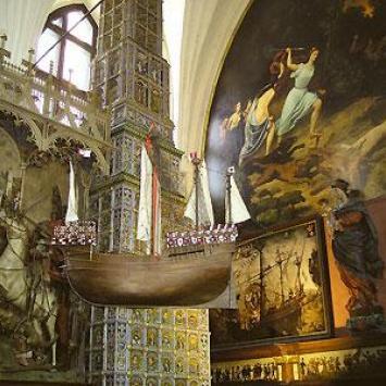 Gdańsk- Dwór Artusa wnętrze
