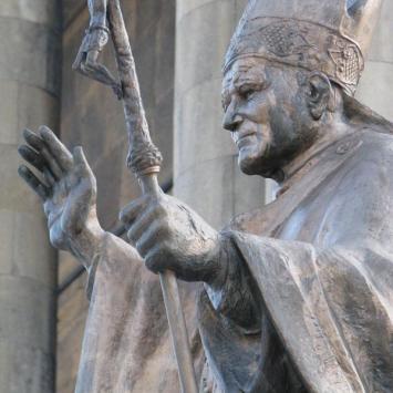 Papież jan Paweł II w Katowicach