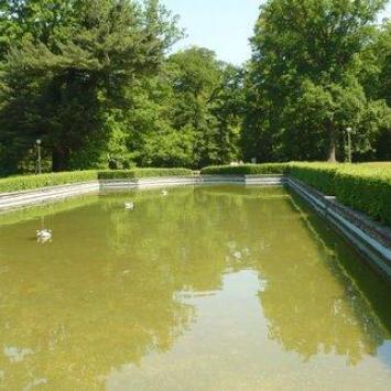 Park przy zamku w Mosznej - rezydencji jak z bajki ... - zdjęcie