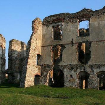 Ruiny zamku w Bodzentynie, monika