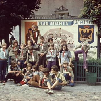 6. 1975 Kotlina Kłodzka obóz wędrowny
