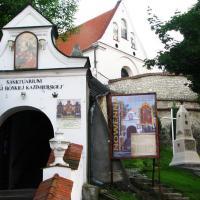 Kazimierz Dolny kościół reformatów