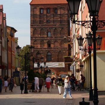 Brama Człuchowska w Chojnicach - zdjęcie