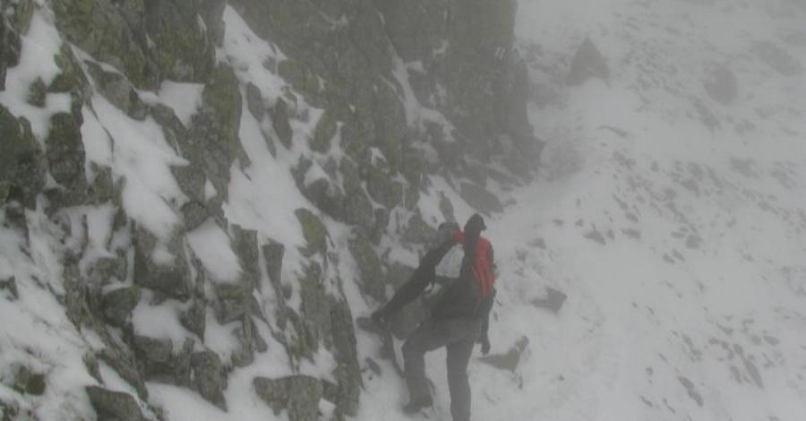 Dolina Pięciu Stawów przez Przełęcz Zawrat - zdjęcie