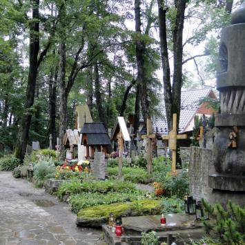 Cmentarz na Pęksowym Brzyzku w Zakopanem