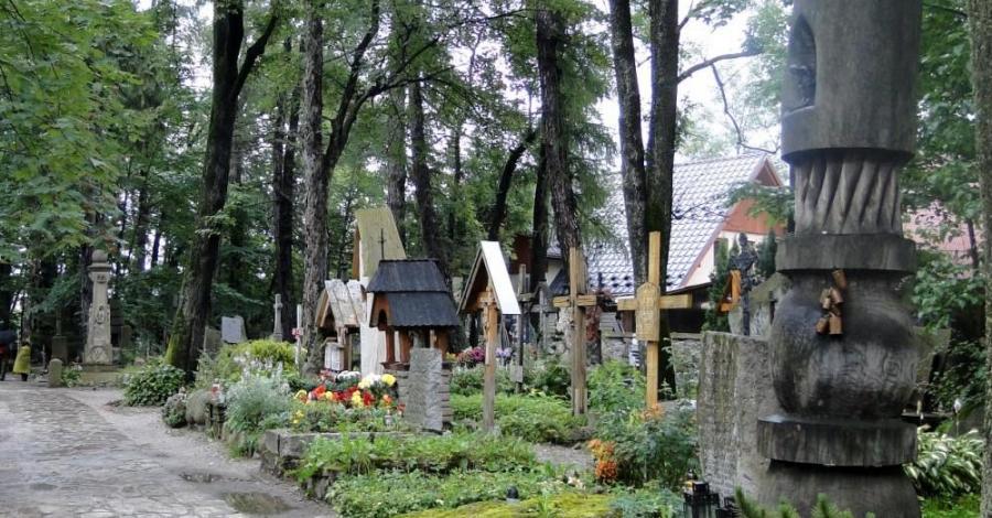 Cmentarz na Pęksowym Brzyzku w Zakopanem - zdjęcie