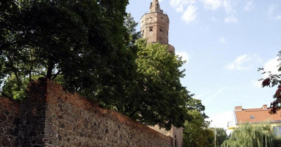 Mury w Stargardzie Szczecińskim - zdjęcie