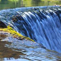 Wodospad w Wiśle Czarne