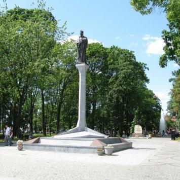 Augustów pomnik Z.Augusta, Jan Nowak