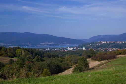 Jezioro Żywieckie z Małego Grojca