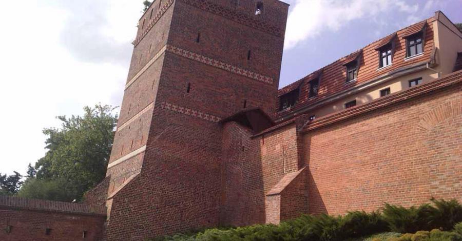 Krzywa Wieża w Toruniu - zdjęcie