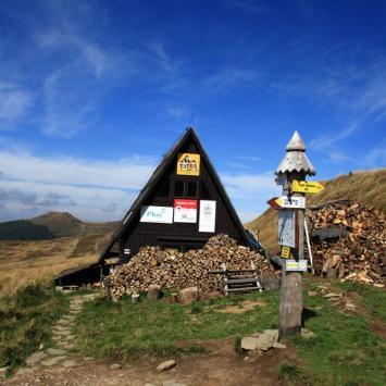 Chatka Puchatka w Bieszczadach - zdjęcie